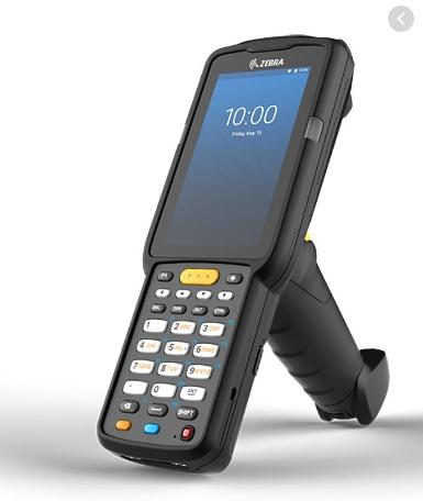 Coletor Zebra MC33L: Gun, 47 Teclas, 2D, Android - BT/WiFi