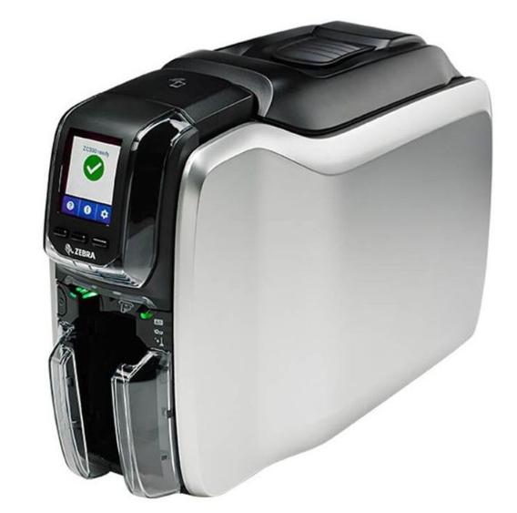 Impressora De Cartão Zebra ZC100 USB - Um Lado
