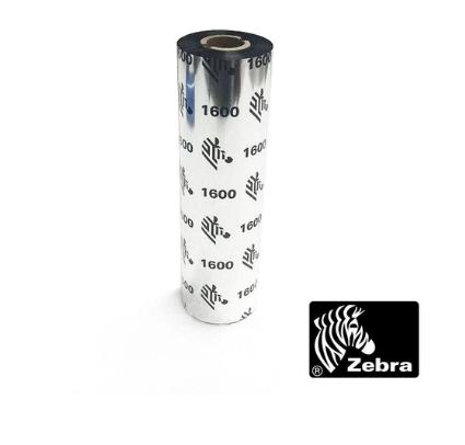 Ribbon de Transferência Térmica de Cera para Impressoras Desktops 110mm X 74mm