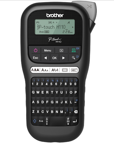 Rotulador Eletrônico Brother Ptouch - PTH110BK