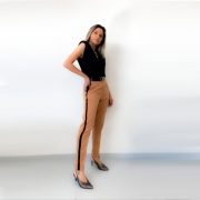 Calça Stella McCartney - Caramelo