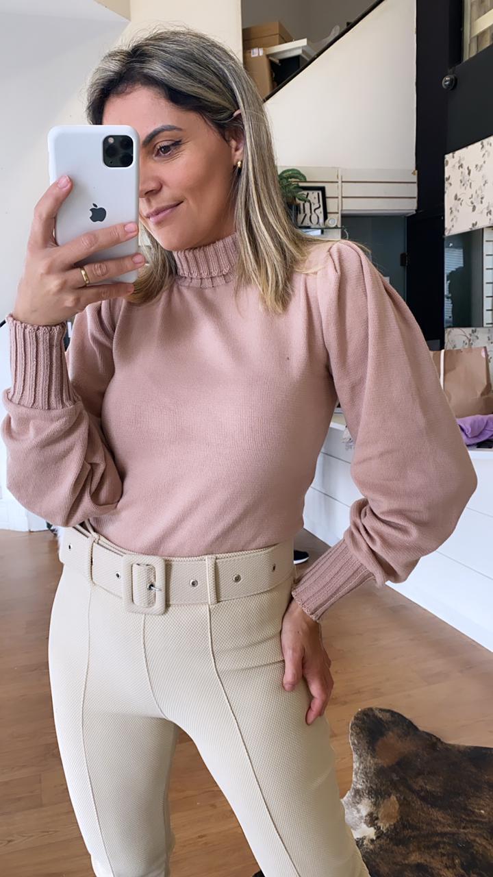 Blusa Modal Ana - Rosê