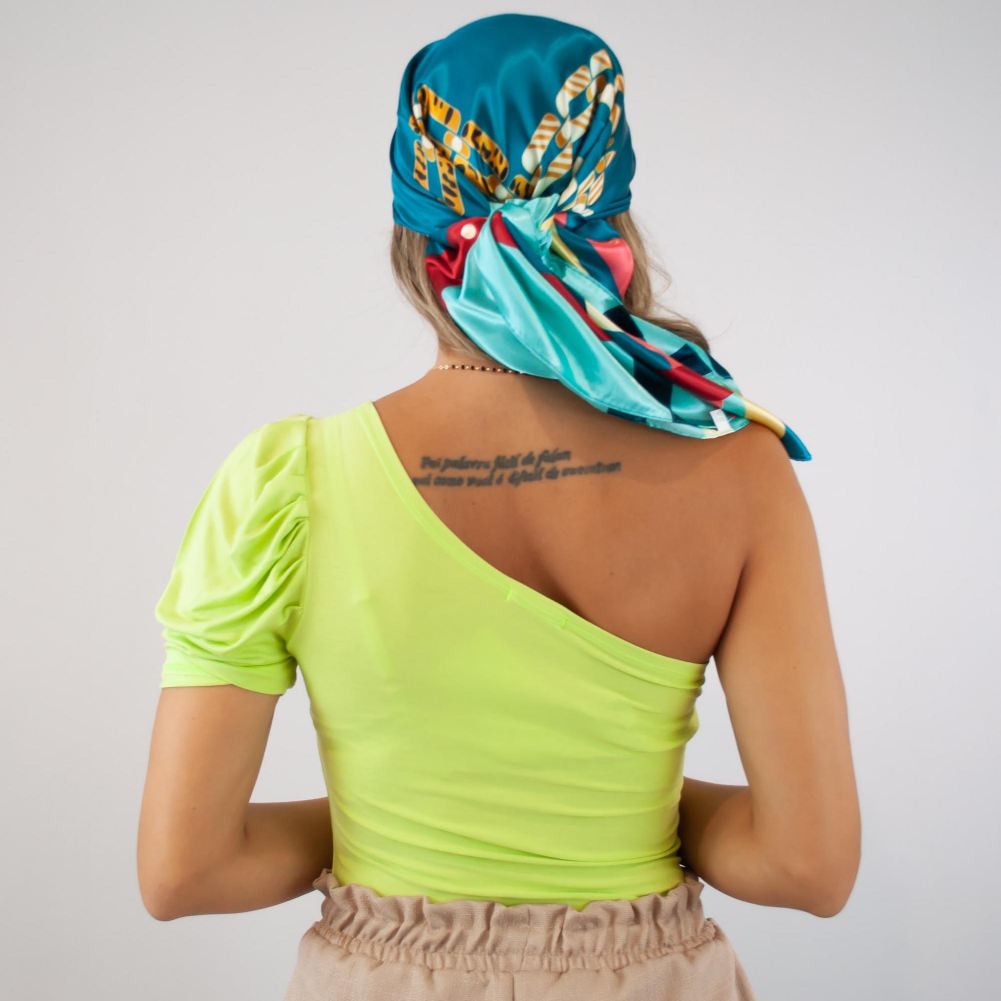 Blusa Ombro Só - Verde