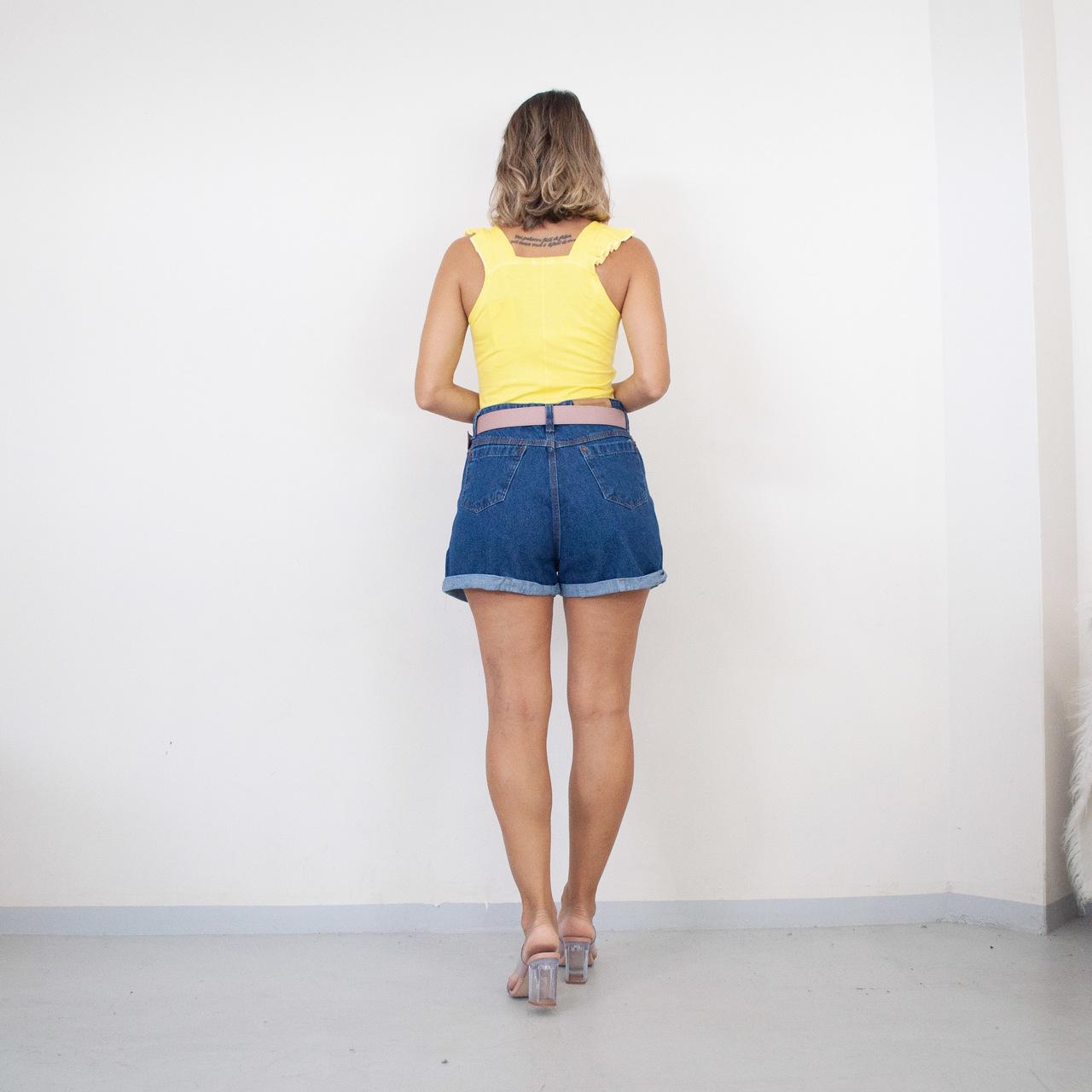 Regata Viscolycra FruFru - Amarela