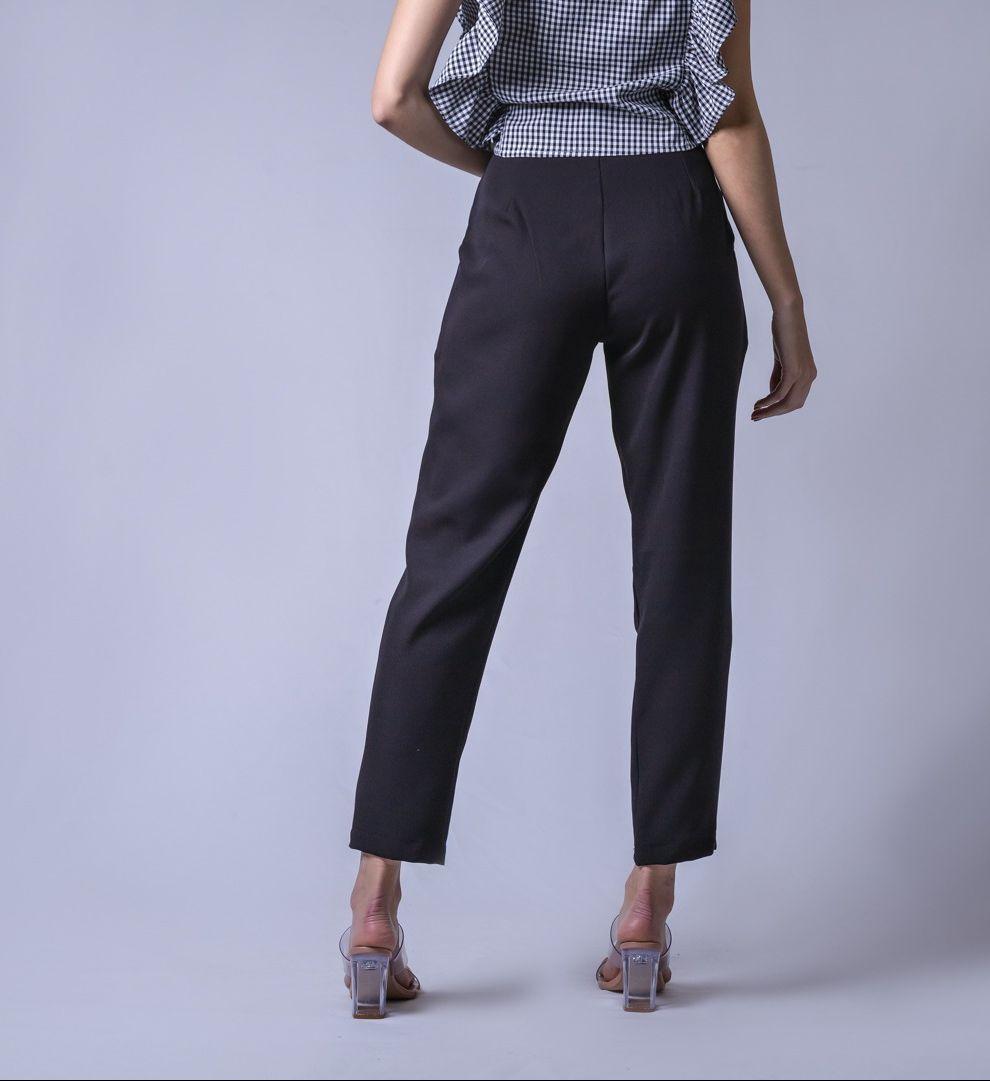 Calça Alfaiataria Color - Preto