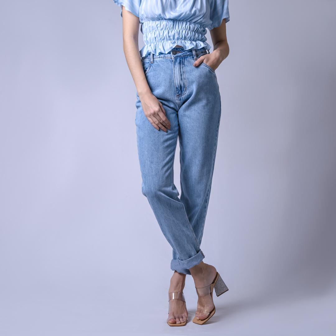Calça Jeans Mom - Clara