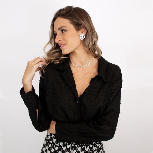 Camisa Classic - Preta