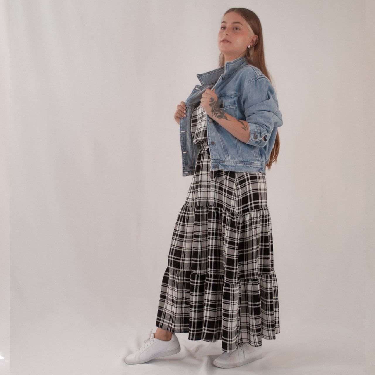 Jaqueta Jeans Mom