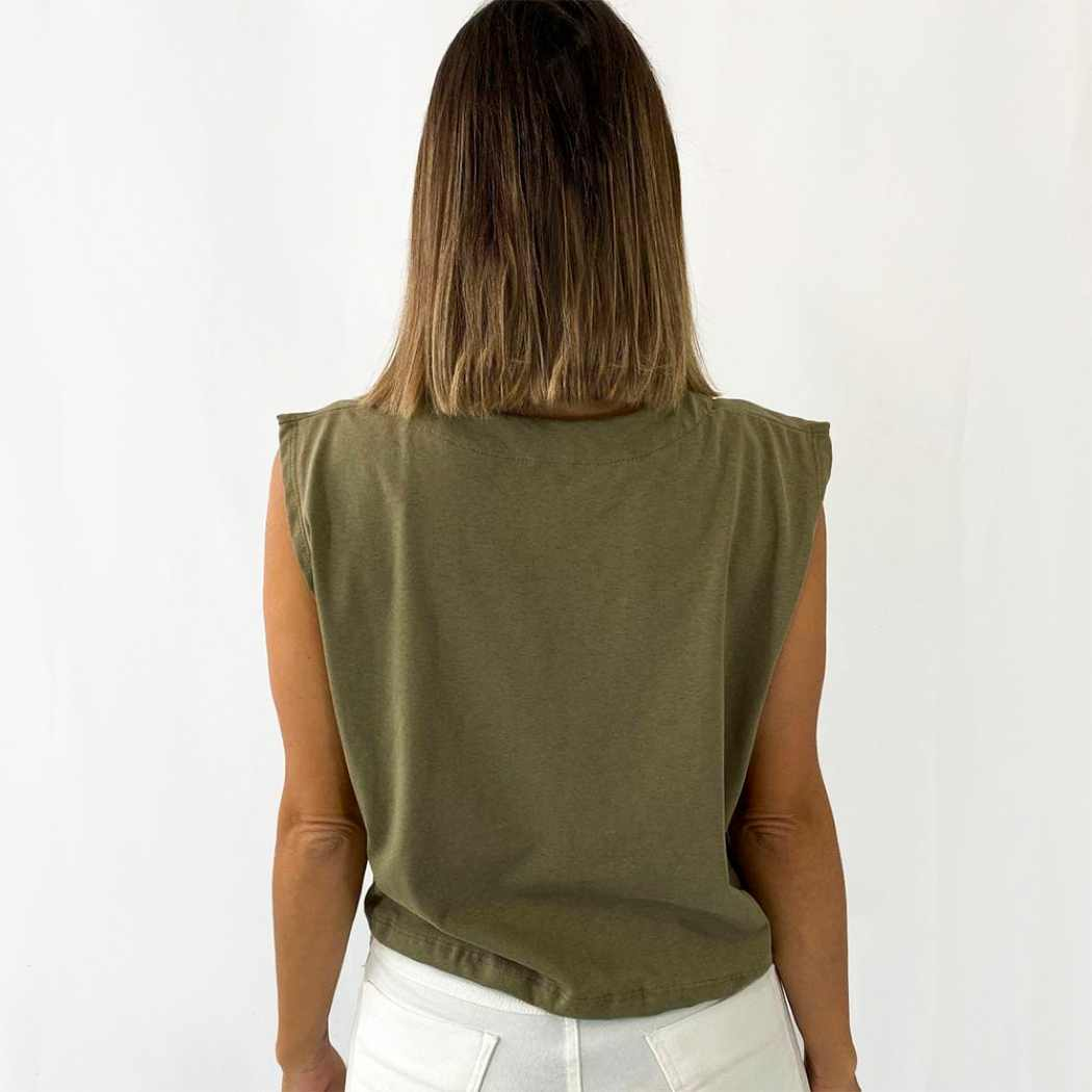 Regata Cropped - Verde