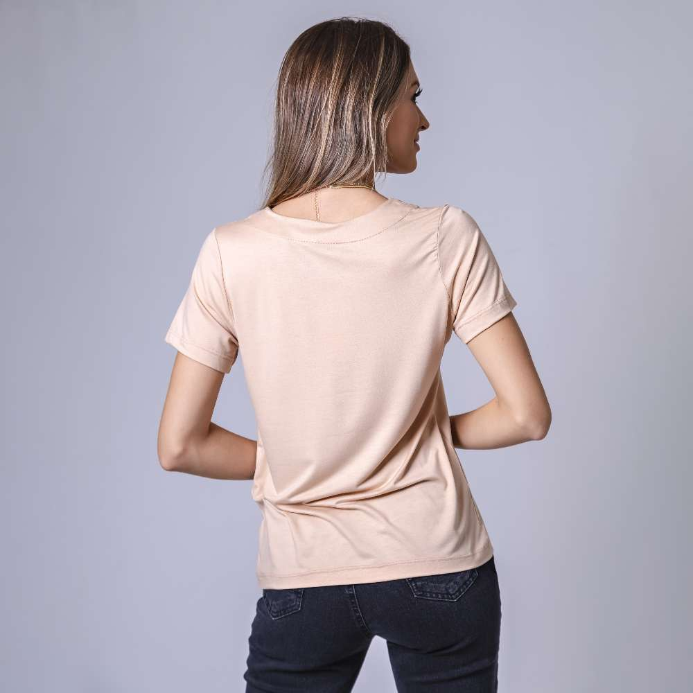 T-Shirt Contra - Bege