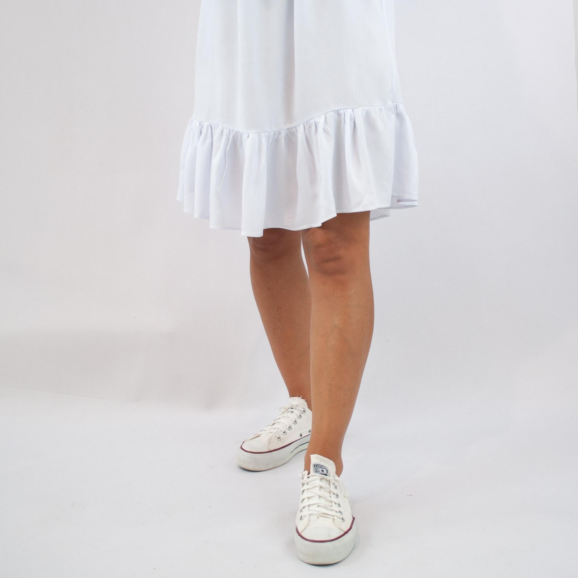 Vestido Ciganinha - Branco