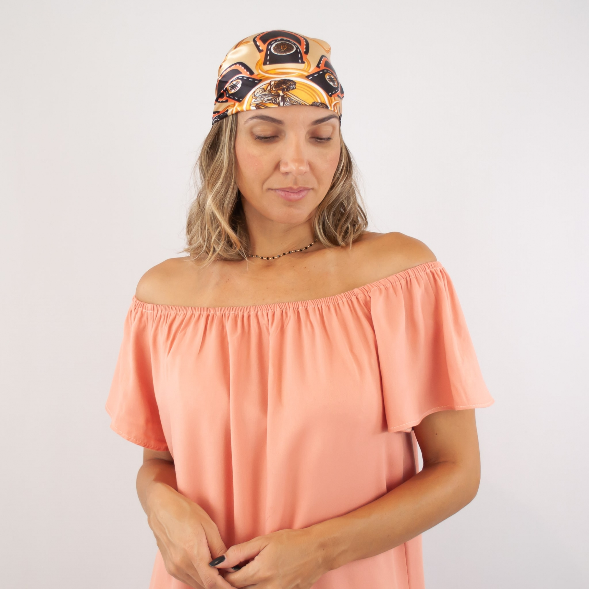 Vestido Ciganinha - Rosê