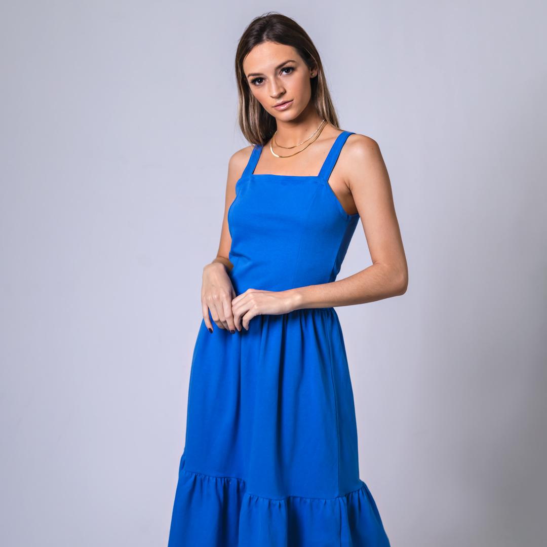 Vestido Geh - Azul
