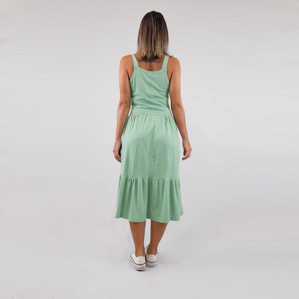 Vestido Geh - Verde
