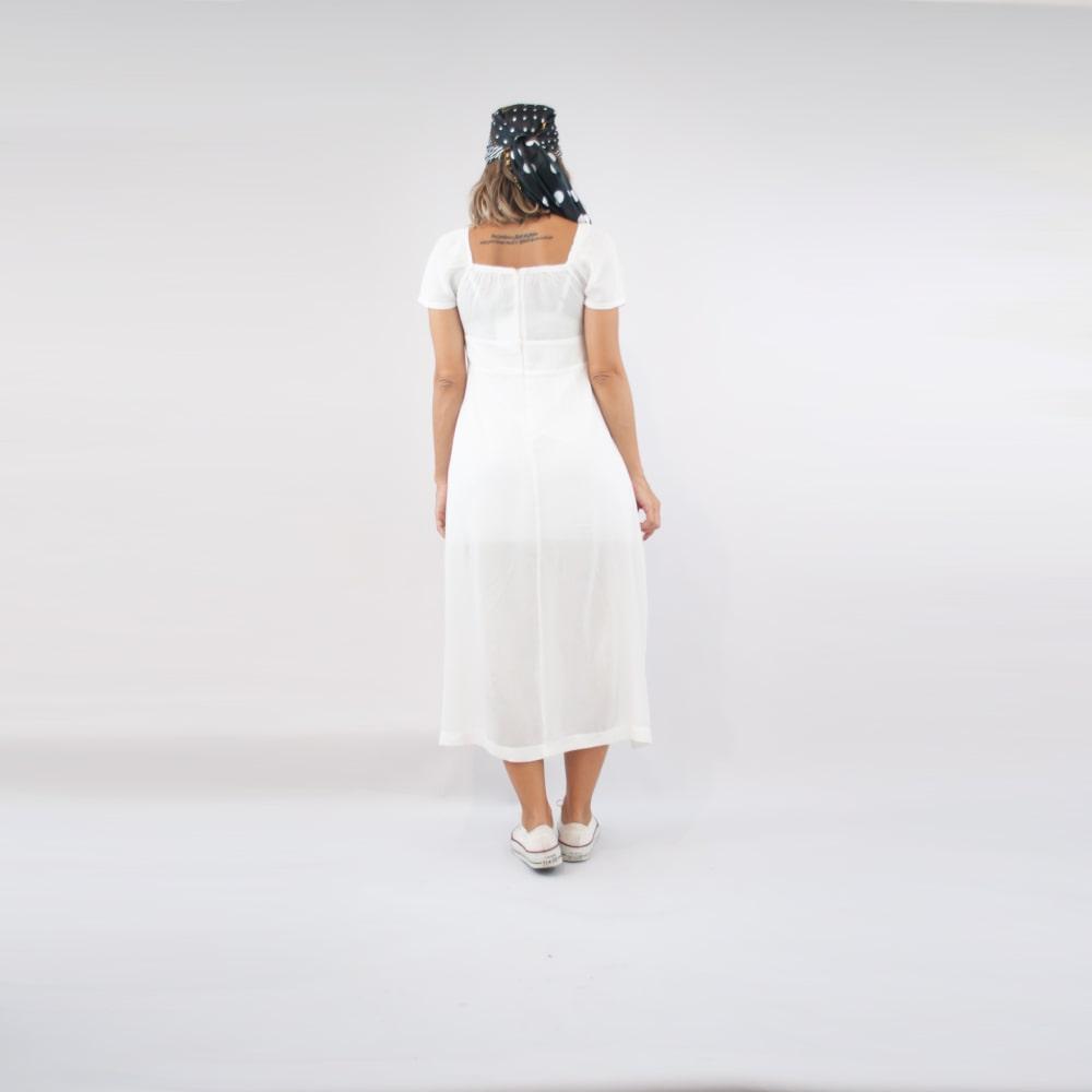 Vestido Sally - Branco