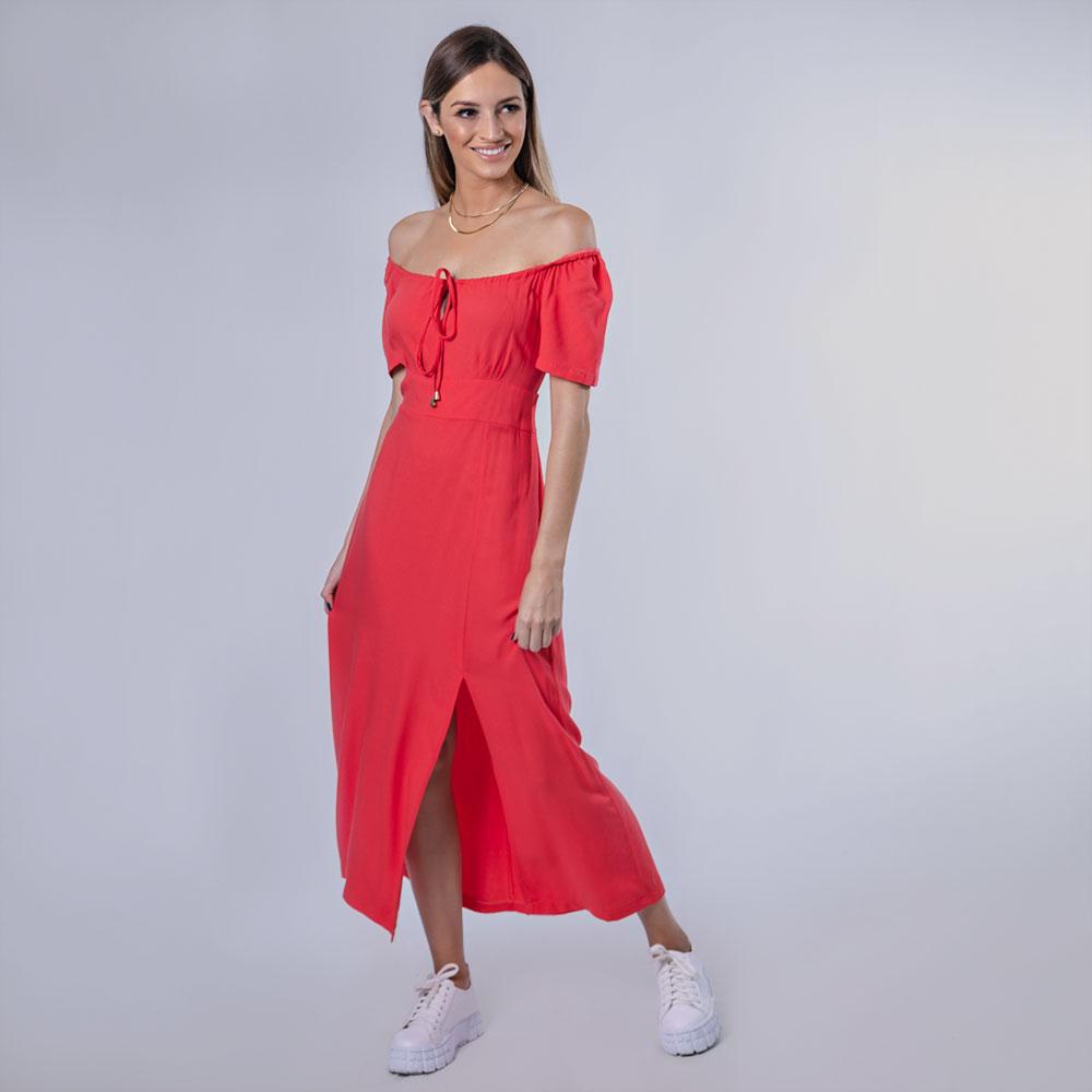 Vestido Sally - Goiaba