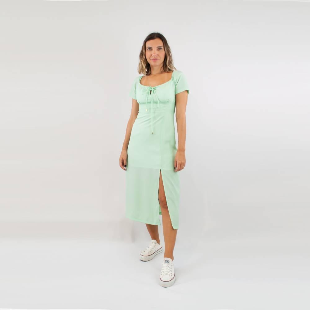 Vestido Sally - Turquesa
