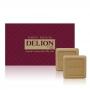 Sabonete Masculino Extra Perfumado Delion Class - Estojo com 2 unidades de 110g cada