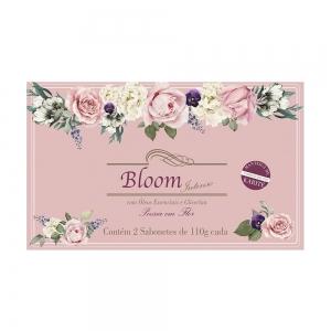 Sabonetes Extra Perfumados Bloom Intenso Poesia em Flor - Estojo com 2 unidades 110g cada