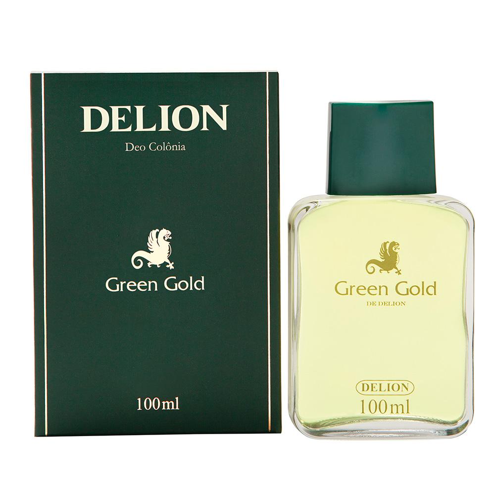 Deo Colônia Green Gold Delion 100ml