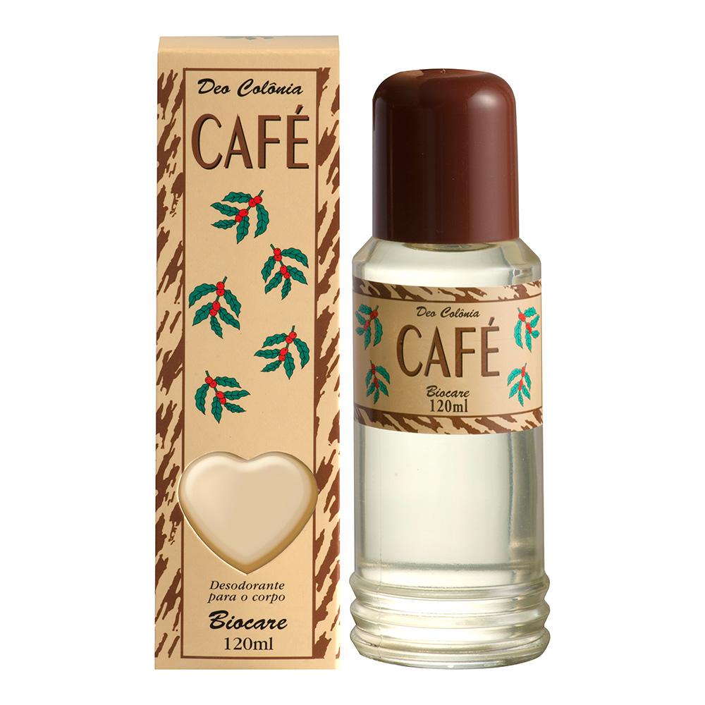 Deo Colônia Biocare Café 120ml