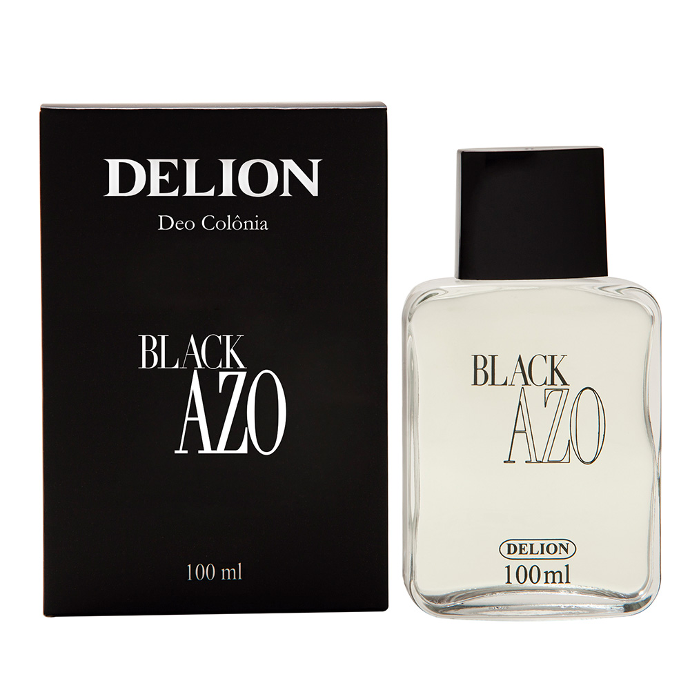Deo Colônia Black Azo Delion 100ml