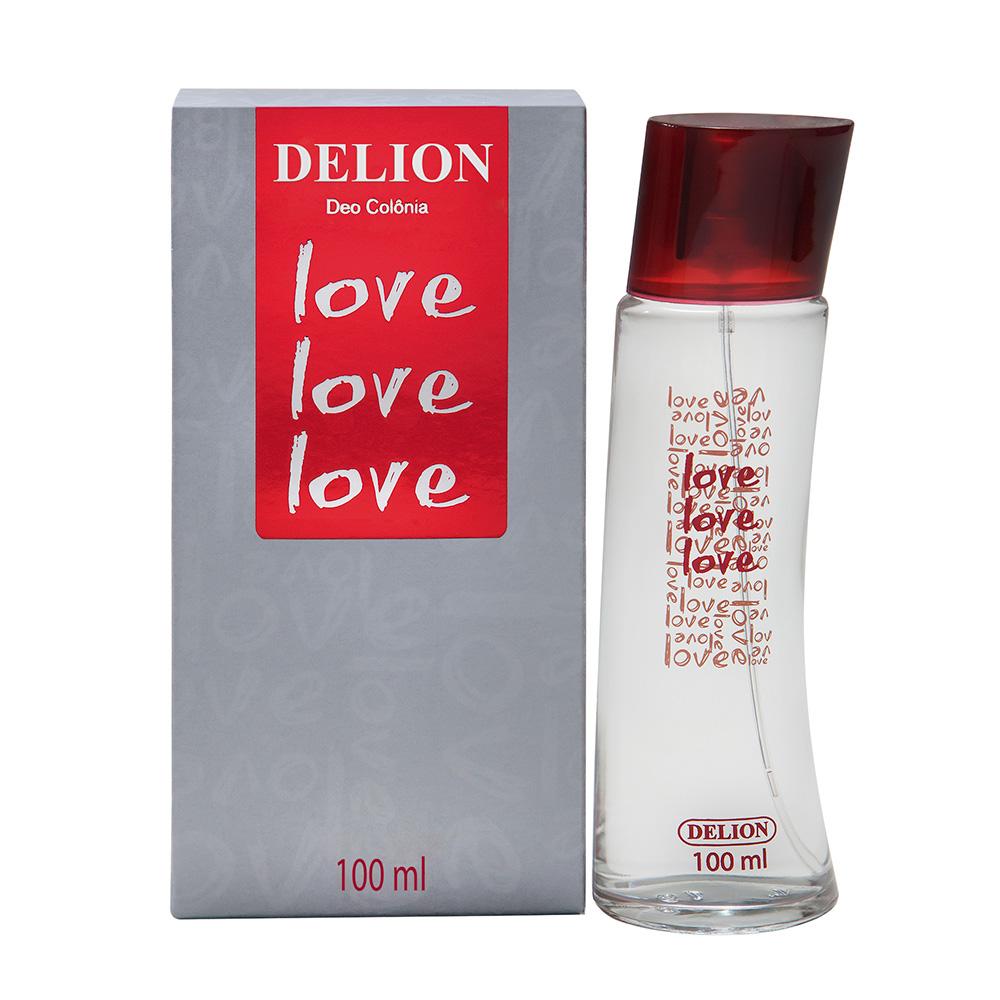 Deo Colônia Love Love Love Delion 100ml