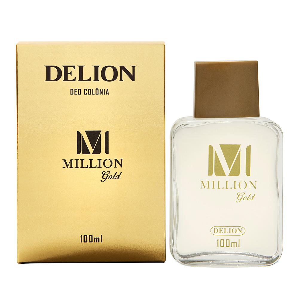 Deo Colônia Million Gold Delion 100ml