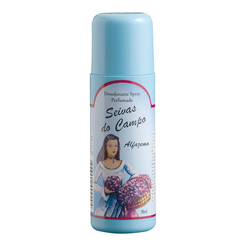 Desodorante Spray Alfazema Seivas do Campo 90ml