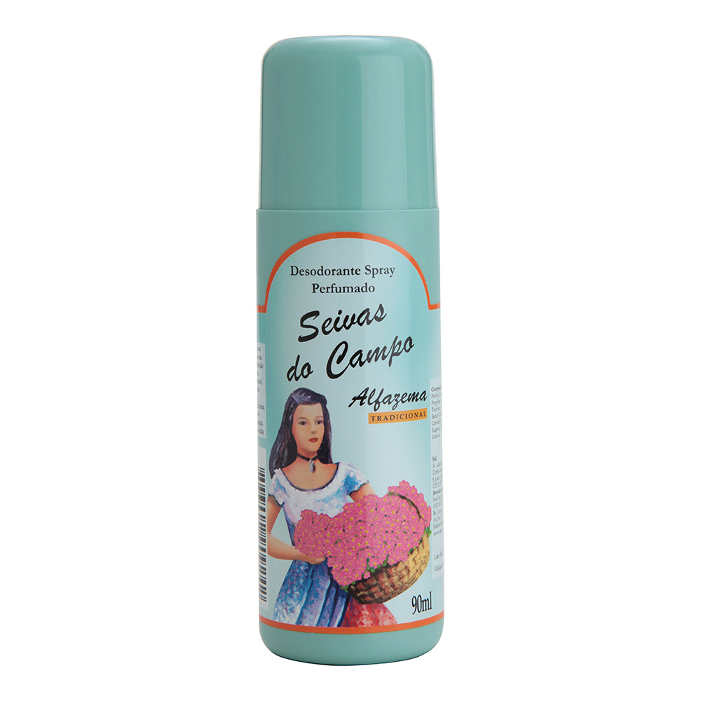 Desodorante Spray Alfazema Tradicional Seivas do Campo 90ml