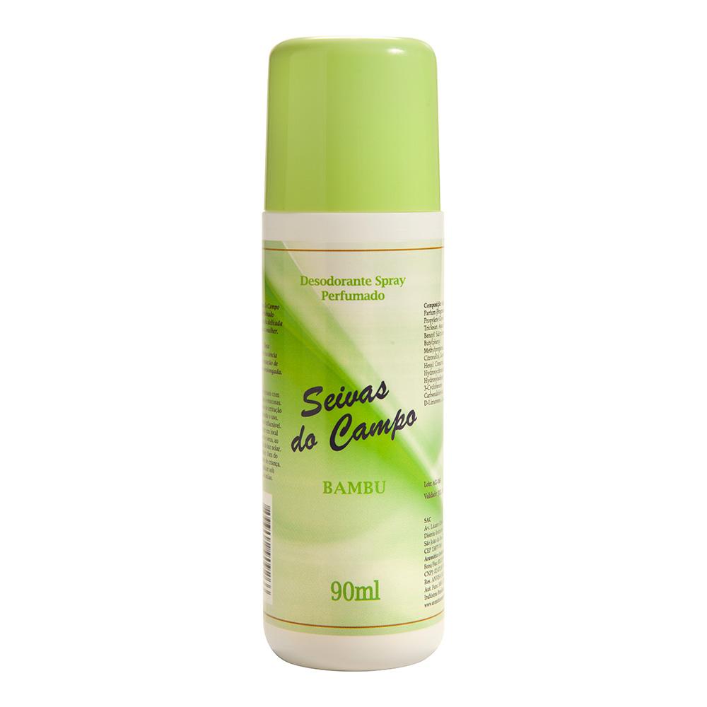 Desodorante Spray Bambu Seivas do Campo 90ml