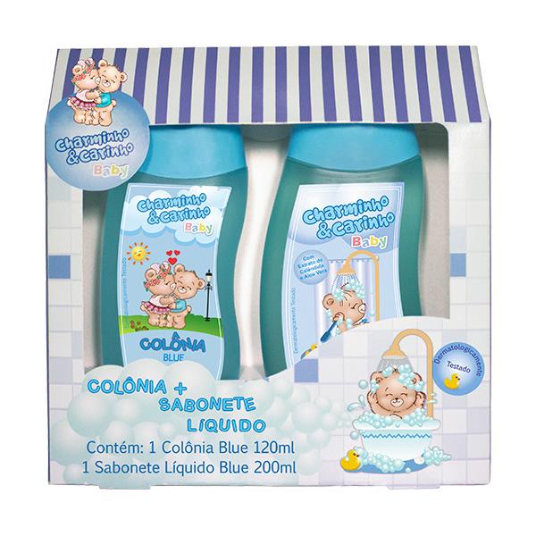 Estojo Infantil Blue Colônia 120ml + Sabonete Líquido 200ml