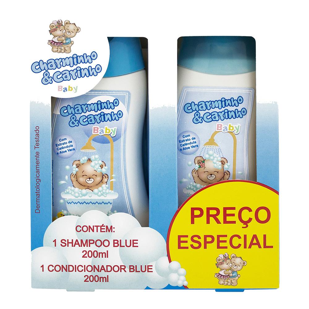 Estojo Infantil Blue Shampoo + Condicionador 200ml