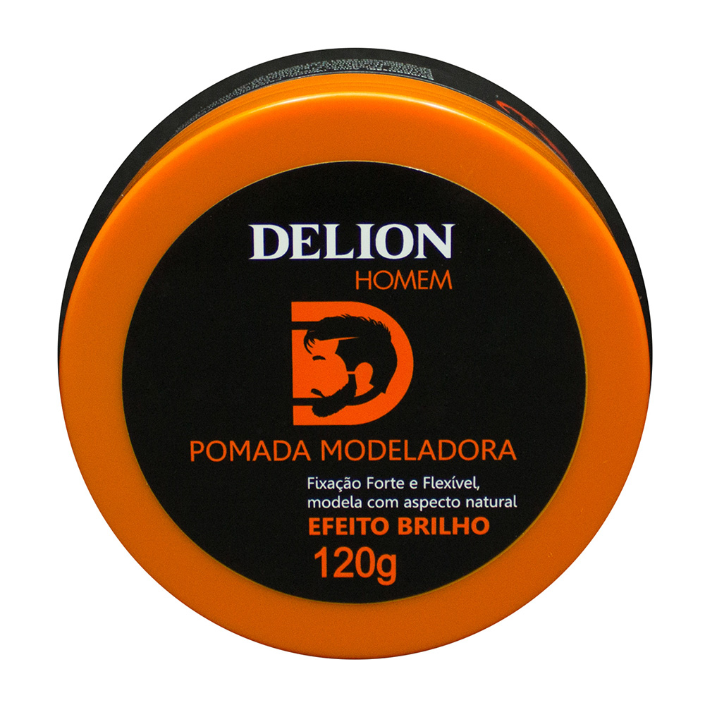 Pomada Modeladora Brilho Delion Homem 120g
