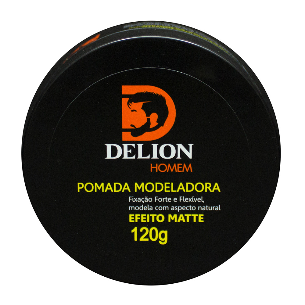 Pomada Modeladora Matte Delion Homem 120g
