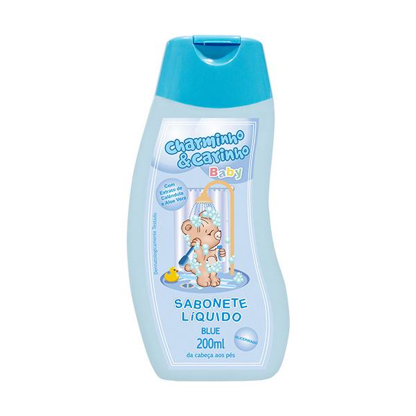 Sabonete Líquido Infantil Blue Charminho & Carinho Baby 200ml