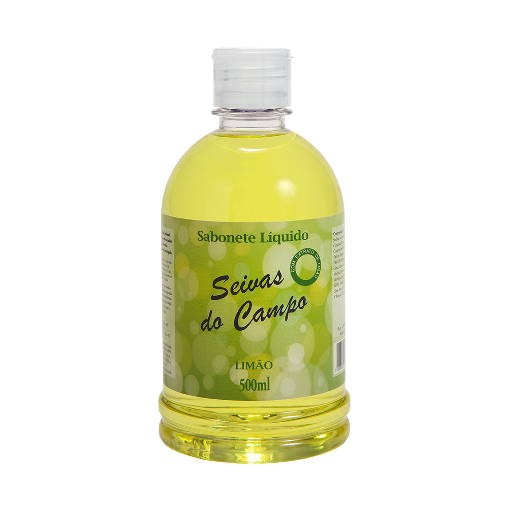 Sabonete Líquido Seivas do Campo Limão 500ml