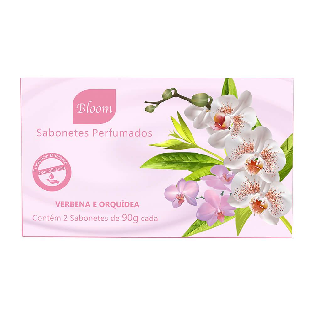 Sabonetes Bloom Verbena e Orquídea - Estojo com 2 unidades 90g cada