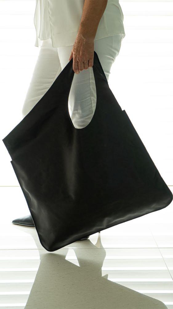 BIG BAG COURO  - Abarca Móveis