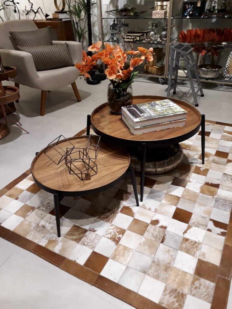 Mesa de Centro Brunelli  - Abarca Móveis Ltda
