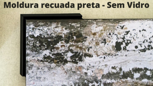 Tela em Canvas XCIII  - Abarca Móveis Ltda