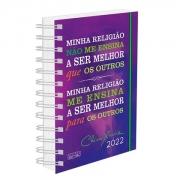 Agenda Chico Xavier 2022 - WIRE-O - Capa Dura