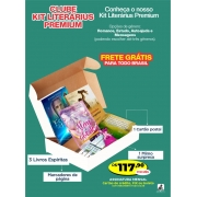 Clube Kit Literárius Espírita PREMIUM