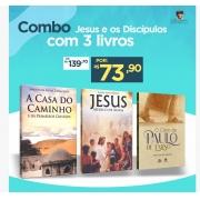 Combo Jesus e os Discípulos com 3 Livros