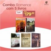 Combo Romance com 5 Livros - Opção 2