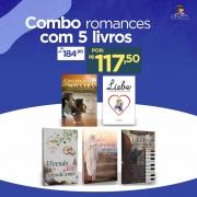 Combo Romance com 5 Livros - Opção 3
