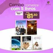 Combo Romance com 5 Livros - Opção 4