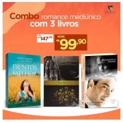 Combo Romance Mediúnico com 3 Livros
