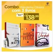 Combo Wanderley Oliveira com 3 Livros