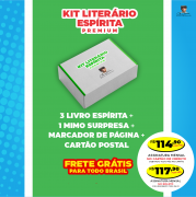Clube Kit Literário Espírita PREMIUM